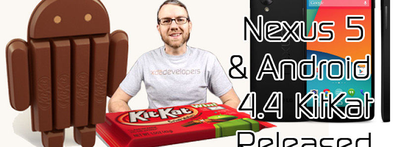 Google Nexus 5 Available! Android 4.4 Detailed, and Motorola's Project Ara Modular Phone? – XDA Developer TV