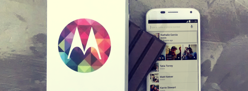 Verizon Leads the Pack with KitKat Update for the Moto X