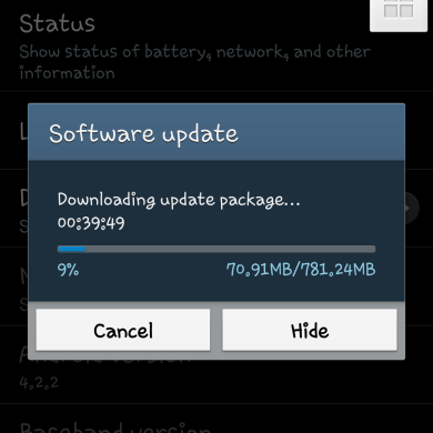 Android 4.3 (M919UVUEMK2) Rolling out to the T-Mobile Galaxy S 4
