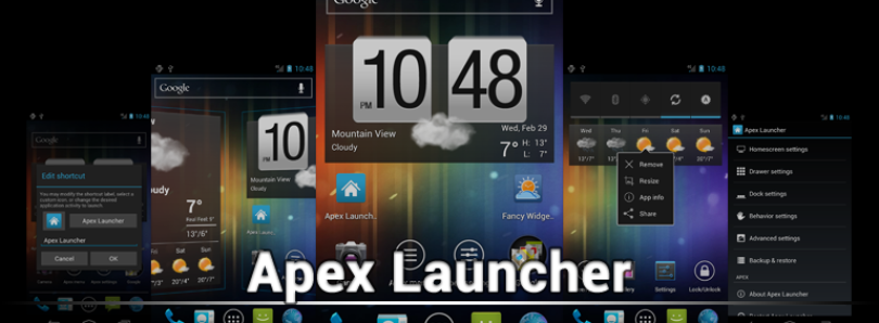 New Apex Launcher Beta Brings KitKat Style