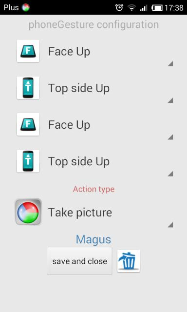 Control Your Android Device with Tilts and Flips