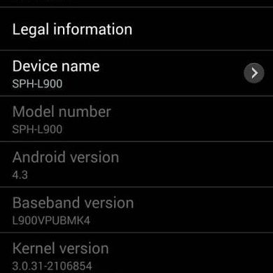 Android 4.3 Pushed to Sprint Galaxy Note II, Update Captured