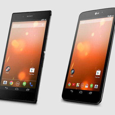 LG G Pad 8.3 and Sony Z Ultra Google Play Edition Devices Now Available