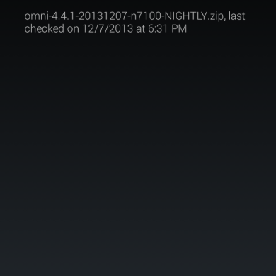 Skip the Wait and Save Your Bandwidth: OmniROM Adds Incremental OTA System