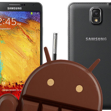 T-Mobile and International Variants of Samsung Galaxy Note 3 Get Unofficial KitKat