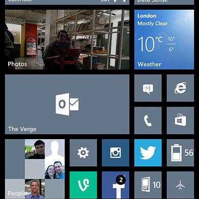 "Windows Phone 8.1 to Receive Major Facelift Including Notification Center, ""Cortana"" Voice Assistant, Virtual Buttons"
