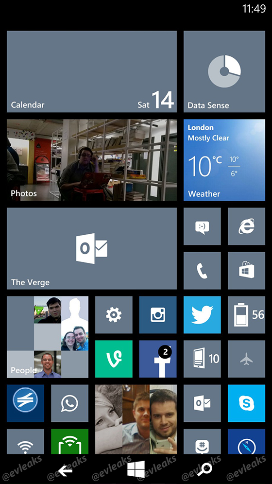 Windows Phone 8 1 to Receive Major Facelift Including