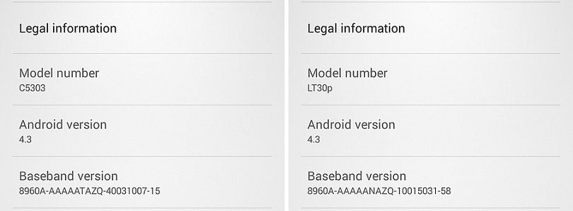 Android 4.3 Drawing Near for the Sony Xperia SP and T