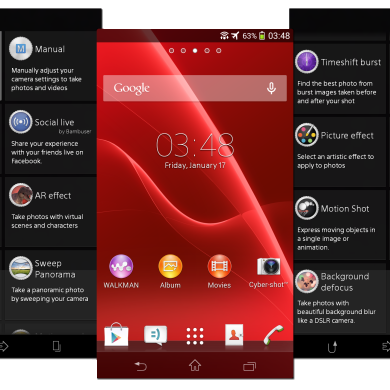 Full Smart Social Camera Experience Ported to Android 4.3 Sony Xperia Devices
