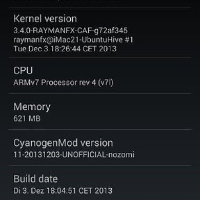 Highly Functional KitKat Build for Sony Xperia S