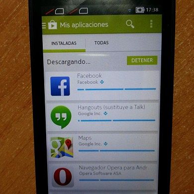 Nokia X Rooted and Loaded with Google Apps, Play Store, and Google Now Launcher!