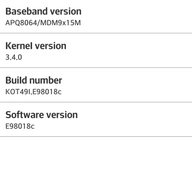 Android 4.4 Leaked for the AT&T LG Optimus G Pro