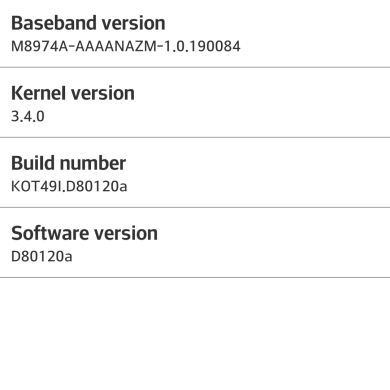 KitKat Arrives on the T-Mobile LG G2, Comes as a 1.5 GB Full KDZ Update