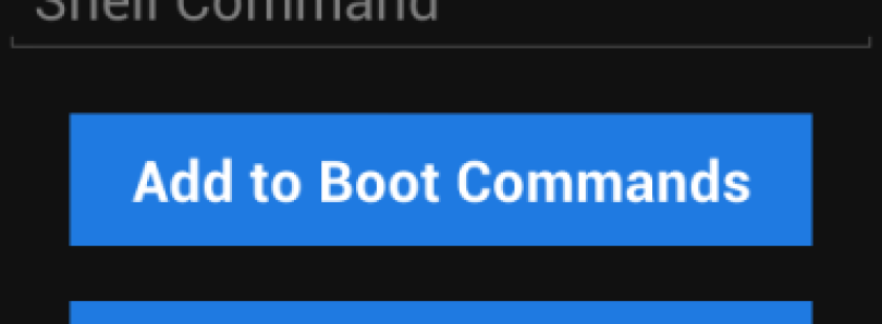 Execute Shell Commands at Boot with Boot Shell