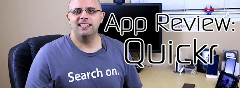 Android App Review: Navigate Your Phone 'Quickr' – XDA Developer TV