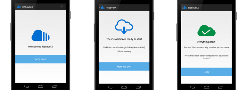 RecoverX Goes Mobile