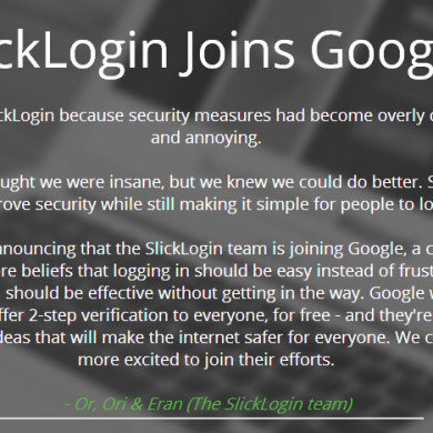 Google Acquires SlickLogin, Sound-based Login Coming to Android?