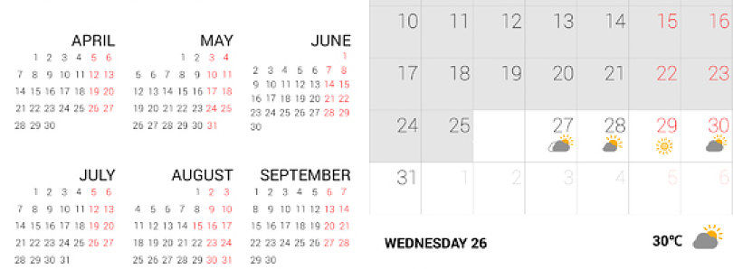 Xperia Z2 Calendar Ported to All Android 4.0+ Devices
