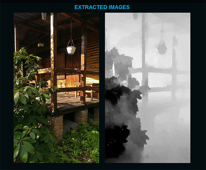Extract Depth Map and Create 3D Parallax Images from Pics Taken with on