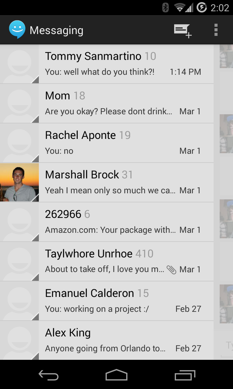 Sliding SMS Updates the Old Android Messaging App with a