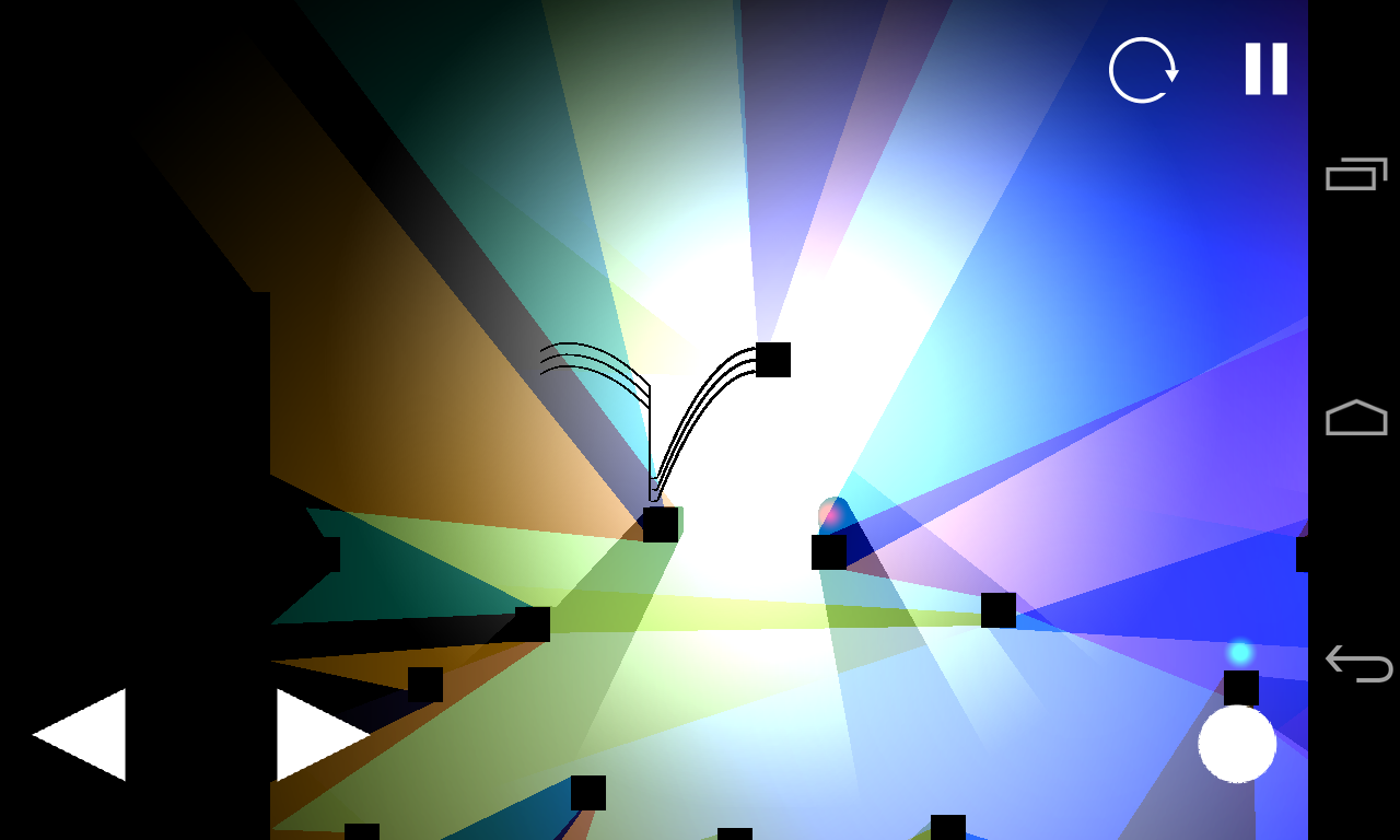 Scroll Through Lights and Shadows with 2D Platformer Phlux