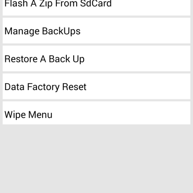 Control TWRP from within Android with TWRP Coordinator