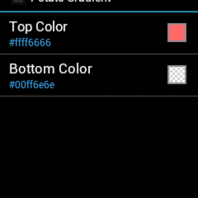 Add a Bit of Flair to Your Status Bar with a Colored Gradient