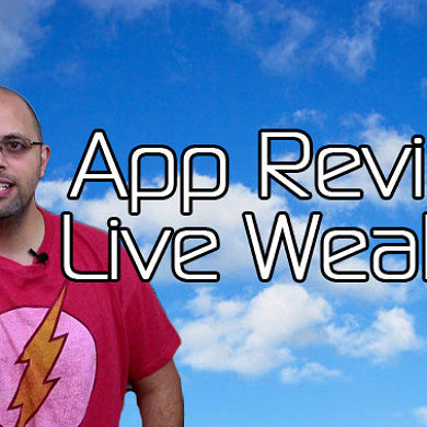 Android App Review: Live Weather – XDA Developer TV