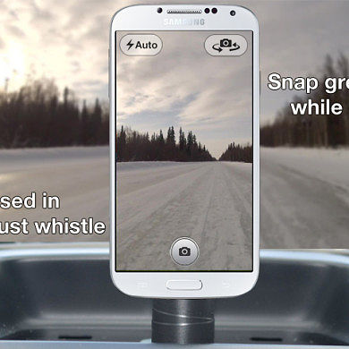 Snap Your Selfies with Nothing More than a Whistle