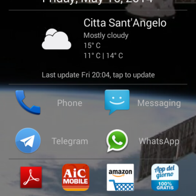 Scroll Launcher is a Simple Yet Slick Homescreen Replacement