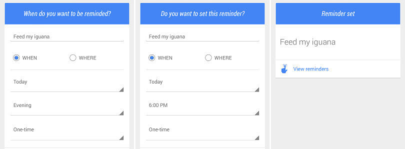 Google Search Now Lets You Set Reminders Entirely by Voice