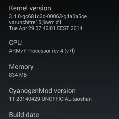 FXP Team Brings CyanogenMod 11 to the Sony Xperia L