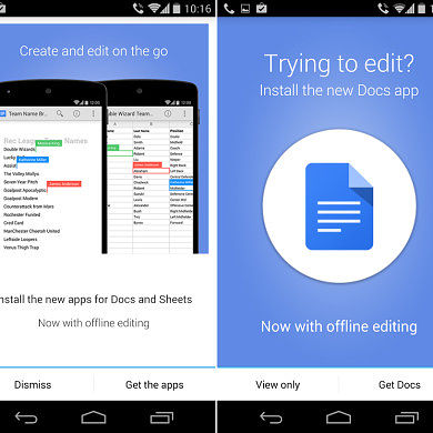 [APK] Google Drive 1.3 Removes Editing Capabilities–You May Want to Pass for Now