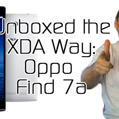 Oppo Find 7a Unboxed the XDA Way – XDA Developer TV