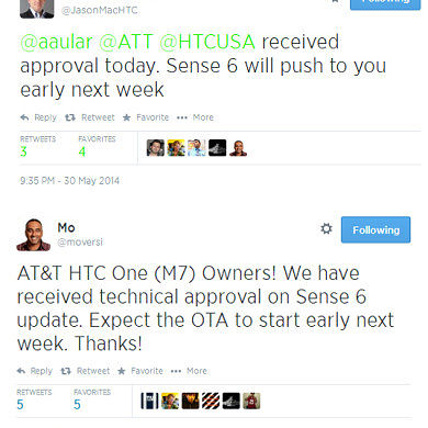 AT&T HTC One M7 to Join the Party and Receive Sense 6 Early Next Week