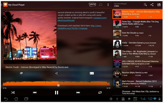 My Cloud Player 9 for SoundCloud Brings Local Audio Playback