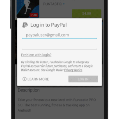[APK] Google Play Store 4.8.19 Brings PayPal Payment Support