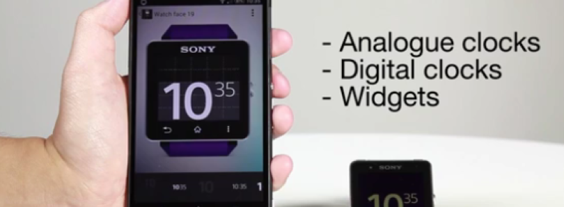 New Widget API Lets You Create Clocks and Widgets for the Sony SmartWatch 2