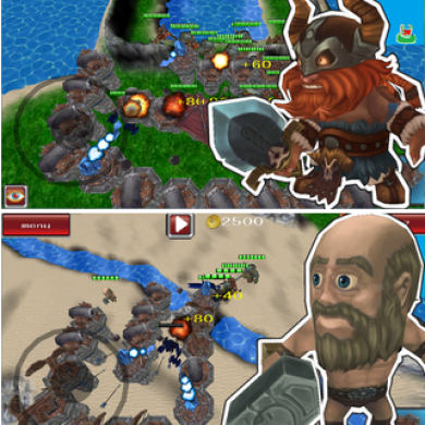 Defend the Kingdom From Orcs and Vikings with Tower Bruiser