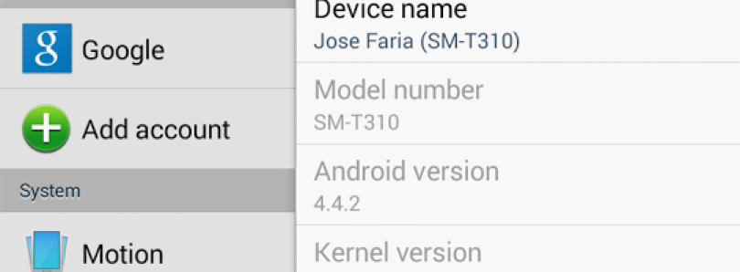 Galaxy Tab 3 8.0 KitKat Update Captured, Rooted