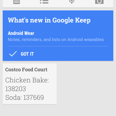 [APK] Google Keep 2.3 Gets Android Wear Support, YouTube and Play Services Also Receive Update Love