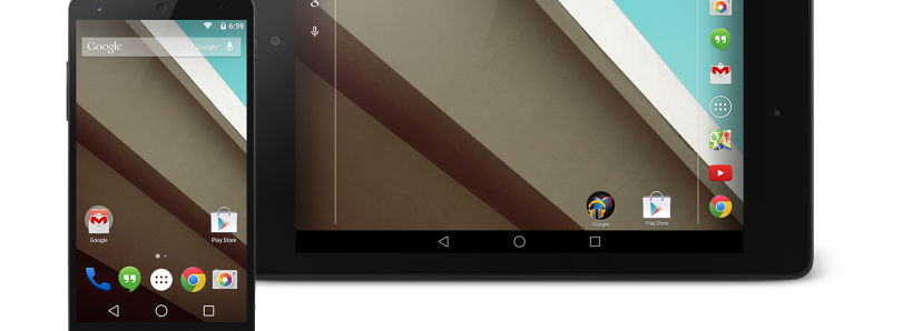 Android L Developer Preview Images Now Available for the Nexus 5 and 2013 Nexus 7!