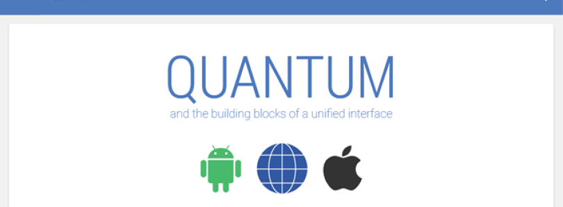 """Quantum Paper"" to Bring a Simpler and More Cohesive UI to Google Products?"