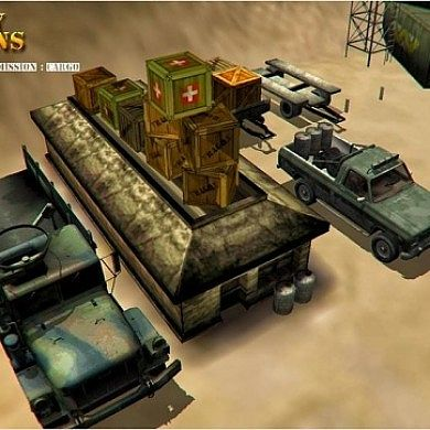 Get Your Cargo to its Destination in 4×4 Military Operations Reborn