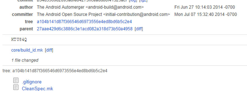 Partial Android Wear Source Uploaded to AOSP