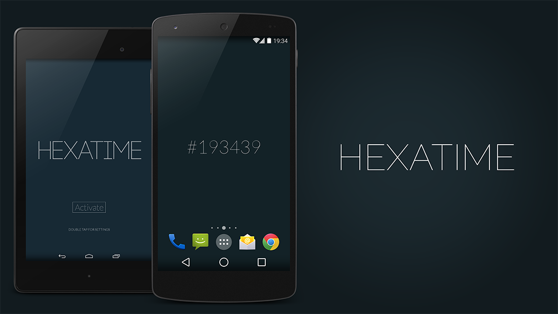 Color Your Screen With Hexatime Live Wallpaper