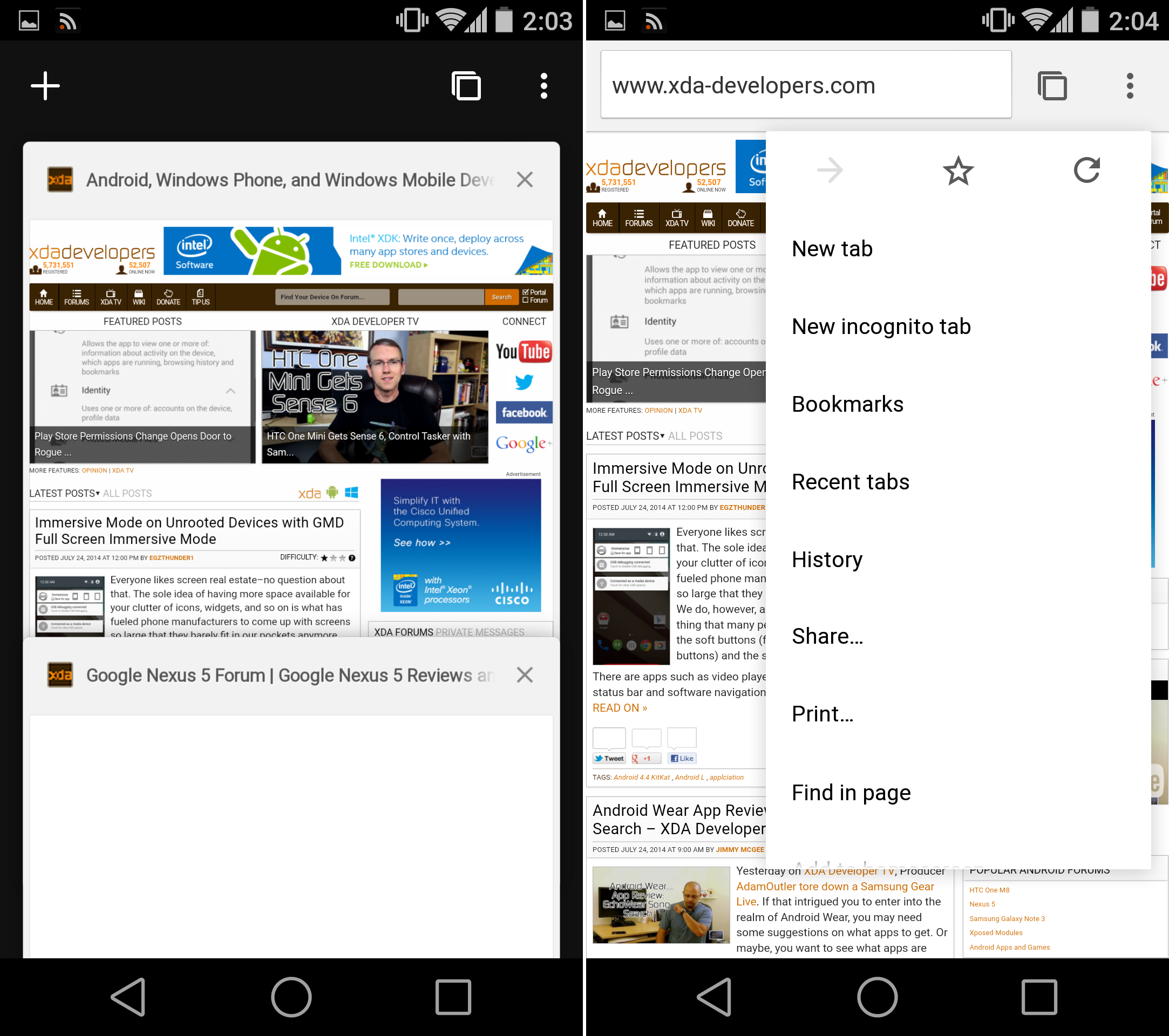 android chrome browser apk