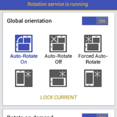Rotation Lets You Take Full Control of Your Device's Orientation Settings