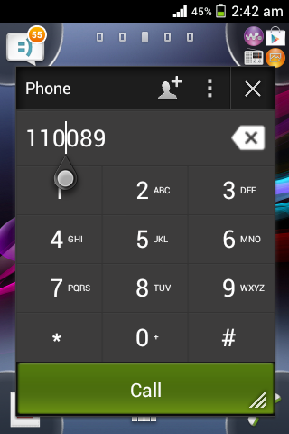 Xperia Small Apps: Phone, Torch, Launcher, Stopwatch