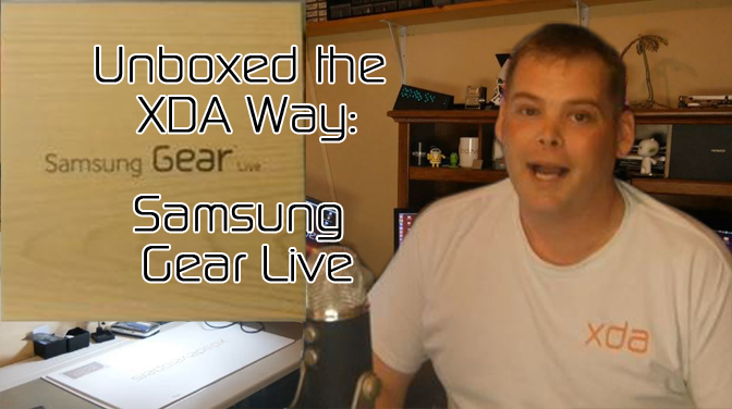 Samsung Gear Live Gets XDA Unboxing